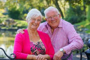 Barry and Lesley Holmes, of  Fleetwood, have been named the happiest couple in the UK