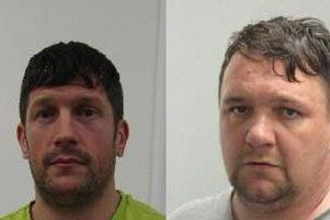 Daniel Plaice (pictured left) and Steven Ford (pictured right) are wanted from for absconding fromHMP Kirkham on Sunday (November 24). (Credit: Lancashire Police)