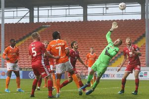 Blackpool booked their place in the FA Cup second round with victory against Morecambe three weeks ago