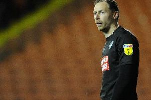 Ex-Blackpool goalkeeper Ryan Allsop was subjected to homophobic abuse