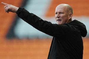Blackpool boss Simon Grayson was pleased with the way his players progressed into the FA Cup third round on Sunday