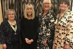 St Annes Inner Wheel with guest speaker Elizabeth Gomm (second left)