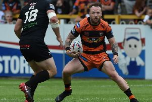 Jordan Rankin, one of the players to have signed up with Castleford Tigers for 2020