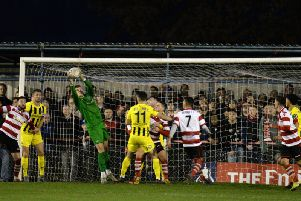 Sam Hornby has not conceded a goal in three games for Fylde