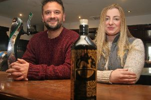 Cat and Fiddle new owners Karl and Lindsay Bond.