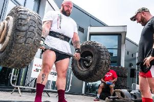 Dean Finegan is aiming to qualify for the 2020 national Strongman championship