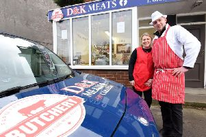 Damion and Kelly Crook have opened DK Meats in Carleton
