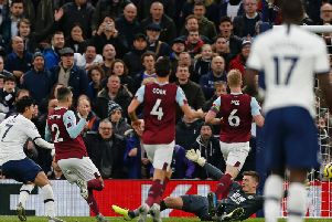 Son scores the third goal for Spurs