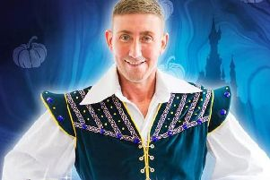 Christopher Maloney stars in Cinderella