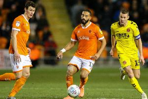 Liam Feeney was back in his favourite wing role