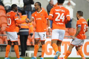 There's a telepathic understanding between Sullay Kaikai (far left) and Nathan Delfouneso