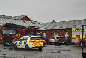 A faulty fan is the 'likely' cause of a fire at Baines High School, in Highcross Road, Poulton, on September 27, 2019, a new report has found