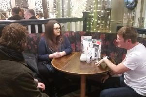 One of the Get Started backed networking groups at the Slug and Lettuce