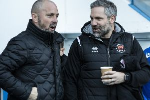 David Dunn (right) has joined Blackpool as first-team coach