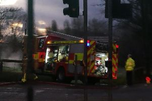 The incident happened close to Blackpool Victoria Hospital at around 8am this morning (January 10)