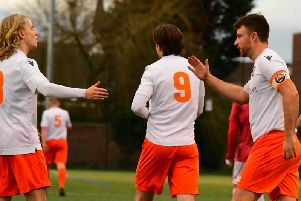 Blackpool strike again but three goals weren't quite enough at Lower Breck   Picture: ADAM GEE