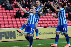 Virtue celebrates his wonder strike in Blackpool's draw at Sunderland
