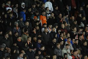 Were you among the 5,213 crowd at Bloomfield Road last night?