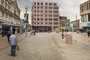 An artist's impression of the proposed scheme