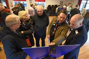 Plans to build hundreds of homes on farmland in Carleton on display at St Martin and St Hilda Church Hall