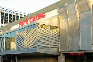 The site when it operated as the Paris Casino