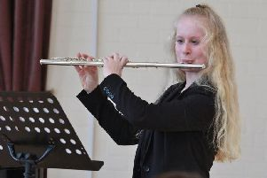 Kirkham Grammar School flute player Brioni Crowe