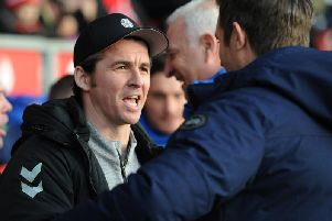 Joey Barton knows a run of good results can be decisive in League One this season