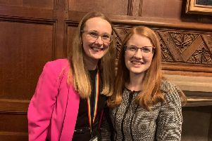 Cat Smith and Holly Lynch