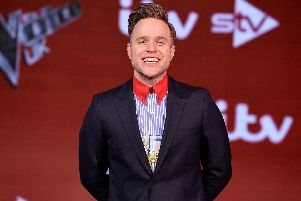 Singer Olly Murs shared a message of support for Blackpool dad Kenny Cram, who lost his leg to sepsis. Photo: Getty