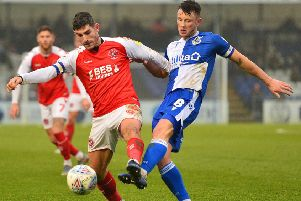Fleetwood Town and Bristol Rovers drew