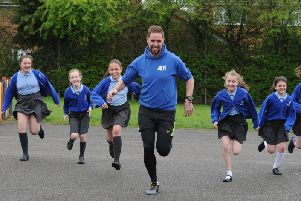 Ben Smith at Holy Family Primary School