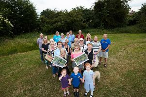 Residents in Wrenthorpe are worried about the prospect of housebuilding on several greenfield sites around the village, including Jerry Clay Lane.