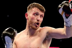 Scott Cardle returns to action this weekend