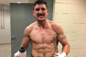 Matty Askin is heading to Wembley Stadium to defend his British title