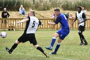Ryan Charnley scores for Gate   Pictures: ALBERT COOPER