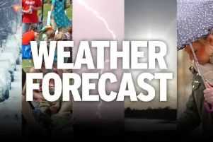 This week's weather with forecaster Trevor Appleton.