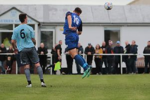 Dean Ing scores Gate's consolation goal  Picture: IAN DAVIES