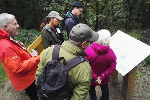 The Heritage Lottery funded project has created a Heritage and Wildlife Trail in the Centre Vale woodlands