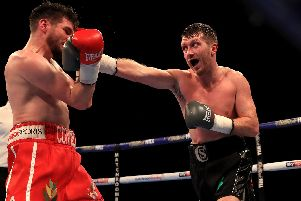 Cardle will take on Cordina in Manchester on November 10