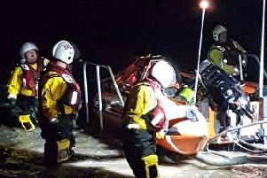 RNLI lifeboats scrambled to help person 'in difficulty' in Bispham