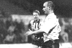 Brian Honour was one of the players singled out for praise by manager Billy Horner after the 1985 match against Colchester.