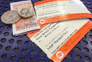 North west tickets will rise by 3.1%