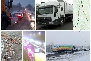 Travel chaos and schools closed as snow and ice hits Lancashire