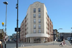 An artist's impression of how the building will look once it is finished next year (Picture: Premier Inn/Whitbread)