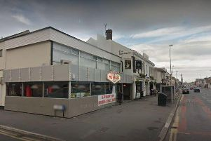 The assault took place close to Ma Kellys at 2.20am on Sunday, February 10 in Lytham Road, Blackpool.