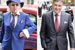 Owen Oyston, left, comes up against Valeri Belokon in the High Court once again today
