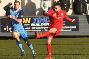 Bridlington Town's Matt Broadley