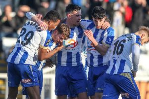 Can Hartlepool United mount a late play-off push?