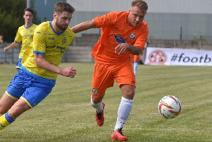 AFC Blackpool's Ben Duffield