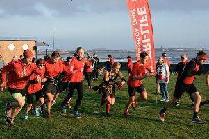 The Warriors own Seaton duathlon event for new members.